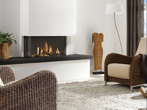 balanced flue fire