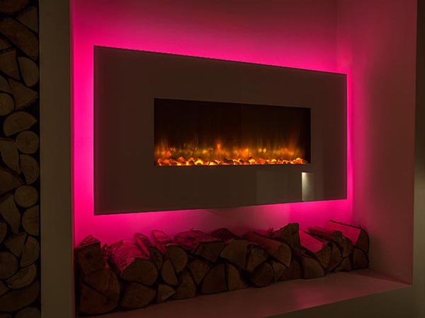 fireplaces and stoves showroom
